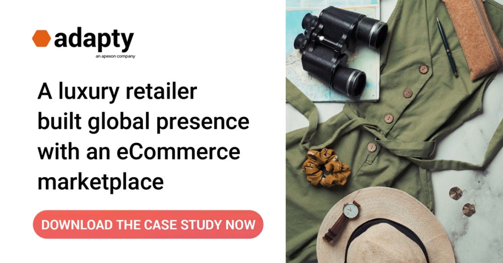 Download the case study to learn how Adapty helped A luxury retailer built global presence with an eCommerce marketplace